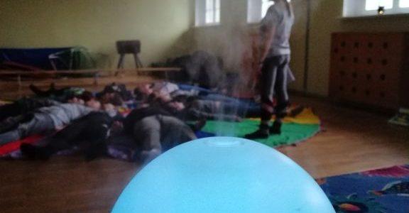 Warsztaty relaksacyjno-koncentracyjne dla gimnazjalistów