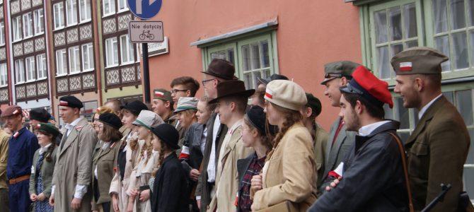 Nasi uczniowie na Defiladzie Zwycięstwa w Gdańsku