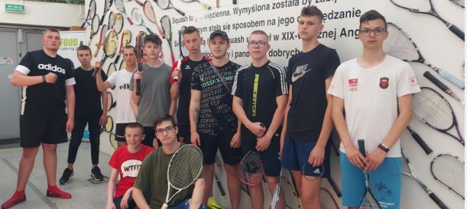 Lekcja squasha i tenisa
